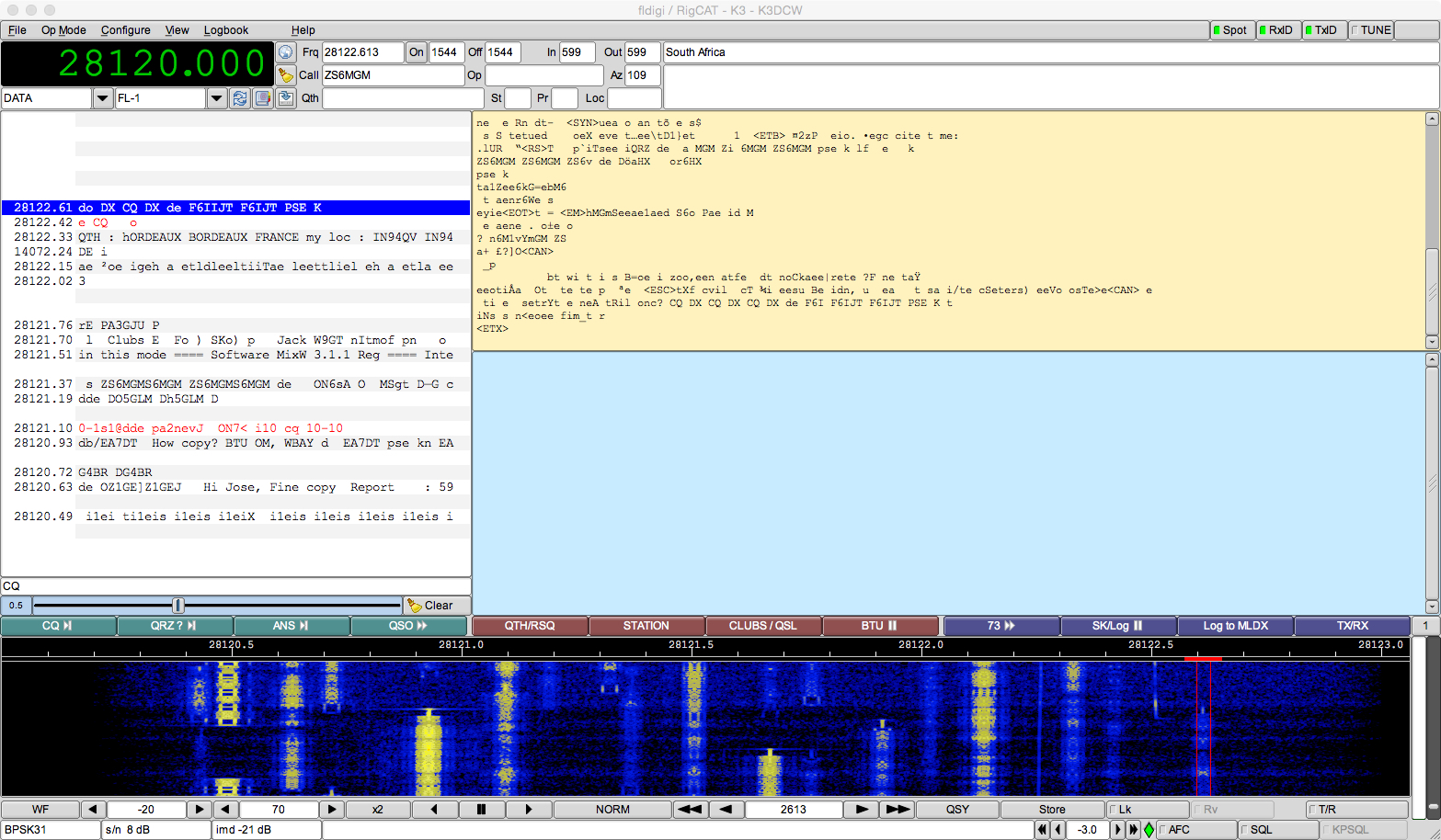 Fldigi/WSJT-X and PulseAudio on OS X 10.11.1